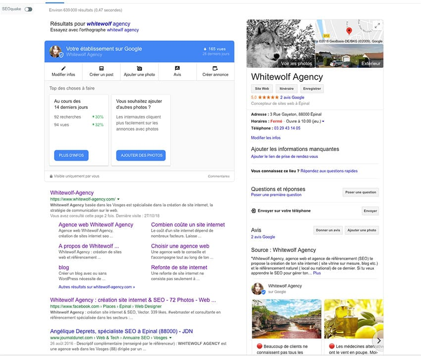 referencement local fiche google my business